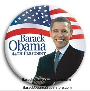 FAB BARACK OBAMA  PRESIDENTIAL COLLECTIBLE  BUTTON -10
