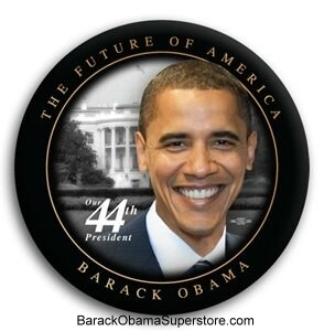FAB BARACK OBAMA  PRESIDENTIAL COLLECTIBLE  BUTTON -11