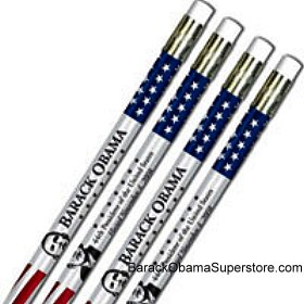 BARACK OBAMA COLLECTIBLE INAUGURATION PENCILS