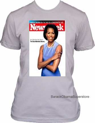 MICHELLE OBAMA COLLECTIBLE HISTORIC COVER T-SHIRT