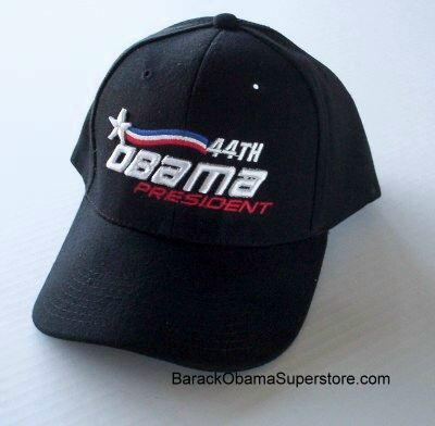 BARACK OBAMA  44TH PRESIDENT BASEBALL CAP