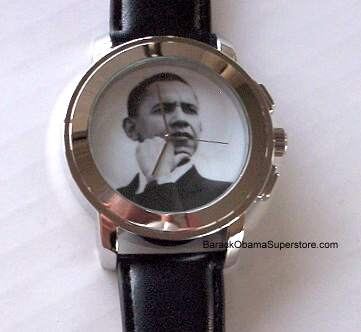 FABULOUS ULTRA MODERN SLEEK BARACK OBAMA WATCH